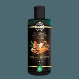 Skořice a hřebíček v mandlovém oleji 200ml