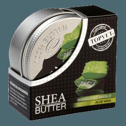 Bambucké máslo (shea butter) s aloe vera 100ml