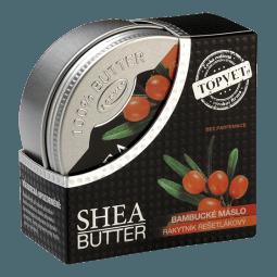 Bambucké máslo (shea butter) s rakytníkem 100ml