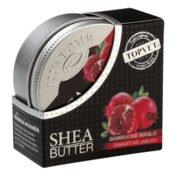 Bambucké máslo (shea butter) s granát. jablkem 100ml