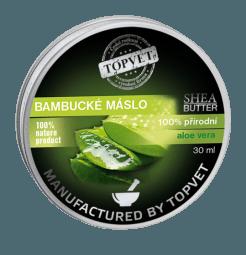 Bambucké máslo (shea butter) s aloe vera 30ml
