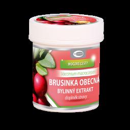 Brusinka obecná bylinný extrakt