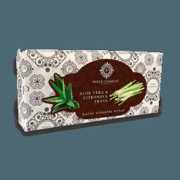 Mýdlo Aloe vera a citronova trava 115g