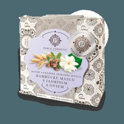 Mýdlo Bambucké máslo s jasmínem a ovsem 115g