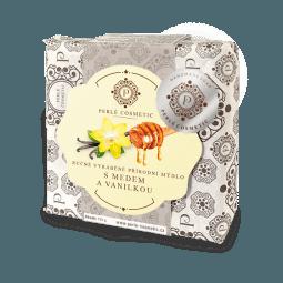 Mýdlo s medem a vanilkou 115g