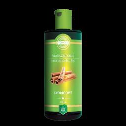 BIO Skořicový masážní olej 200ml