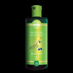 BIO Jalovcový masážní olej 200ml