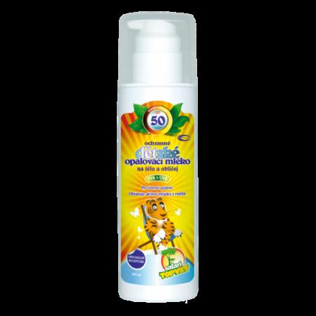 Dětské opalovací mléko SPF 50 200ml