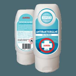 Antibakteriální gel na ruce - Jahoda 50ml