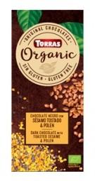 Torras Organic hořká - sezam a pyl 100g