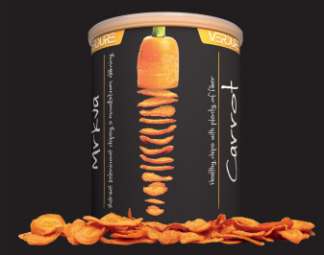 Zeleninové chipsy - Mrkev