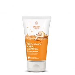 2 v 1 sprchový krém a šampon Šťastný pomeranč