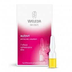 Růžový pleťový olej - 7 denní vyhlazující kúra 7x0,8 ml