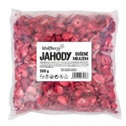 Jahody lyofilizované 500 g Wolfberry