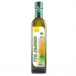 Konopný olej BIO 500 ml Wolfberry *