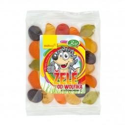 Želé s vitamínem C od Wolfíka BIO 70 g Wolfberry