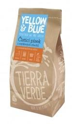 Čistící písek z prášku z mýdlových ořechů 1 kg (zip sáček)