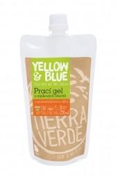 Prací gel z mýdlových ořechů s pomerančovou silicí 250 ml (kapsa uzávěr)