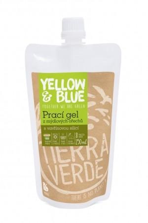 Prací gel z mýdlových ořechů se silicí vavřínu kubébového 250 ml (kapsa uzávěr)