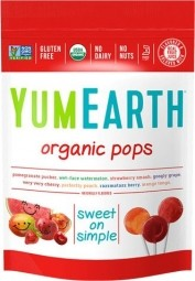 Lízátka ovocné organické 85 g (14 ks) BIO
