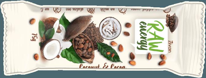Tyčinka Živan - Kokos a kakao
