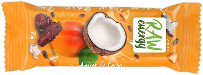 Tyčinka zívání - Meruňka a kokos