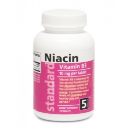 AKCE SPOTŘEBA: 01/2020 Vitamín B3 Niacin 10 mg, 750 tablet