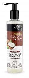 Organic Shop - Kokos & máslovníku - Hydratační šampon 280 ml