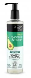 Organic Shop - Avokádo & Med - Obnovující šampon 280ml