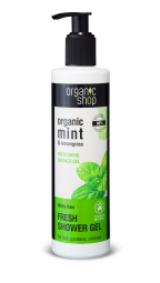 Organic Shop - Mátový déšť - Sprchový gel 280 ml