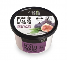 Organic Shop - Figa a Mandle - Maska na vlasy 250 ml