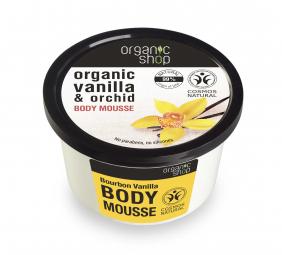 Organic Shop - Vanilka & Orchidea - Tělový krém 250 ml