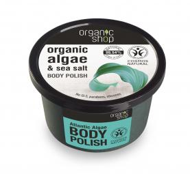 Organic Shop - Tělový peeling z řas Atlantiku 250 ml