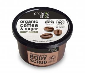 Organic Shop - Brazilská káva - Tělový peeling 250 ml