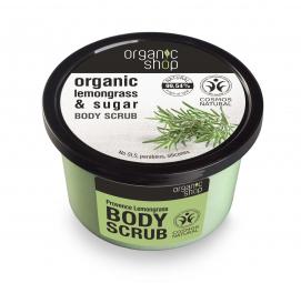 Organic Shop - Citronová tráva - Tělový peeling 250 ml