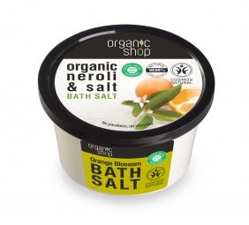 Organic Shop - Květ pomerančovníku - Sůl do koupele 250 ml