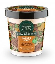 Organic Shop - Mandle & Med - Výživná tělová pěna