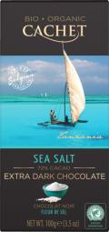 CACHET čokoláda Tanzania Organic hořká 72% sůl 100g