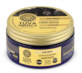 Tuva siberica - Ultra výživná krémová maska na vlasy