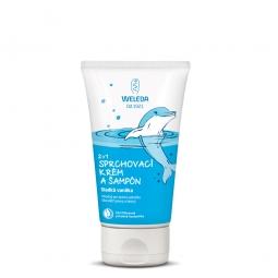 2 v 1 sprchový krém a šampon Sladká vanilka
