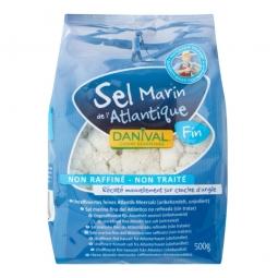 Sůl mořská jemná 500g   DANIVAL