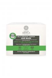 Vlasová maska Divoký Sibiřský Jalovec - Dokonalý objem a lesk pro všechny typy vlasů