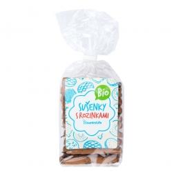 Sušenky s rozinkami 230 g BIO