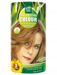 Hennaplus Dlouhotrvající barva Sytě Zlatá Blond 7.3