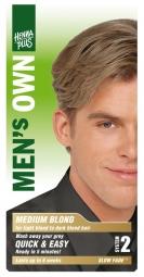 Hennaplus Přírodní barva pro muže Střední Blond