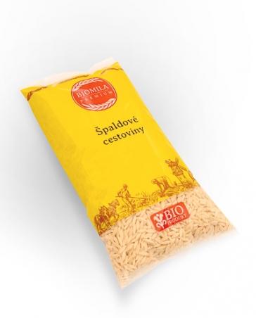 Těstoviny špaldové - slovenská rýže 400g