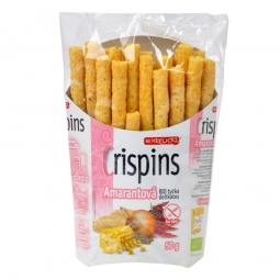 Tyčinky amarantové Crispins bezlepkové 50 g BIO EXTRUDO