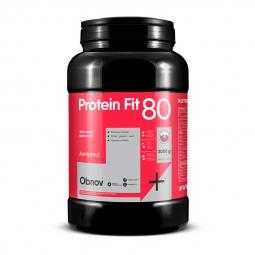 Protein na objem ProteinFit 80 2000 g/66 dávek jahoda