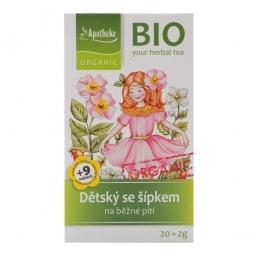 Čaj Dětský ovocný se šípkem 40 g BIO MEDIATE