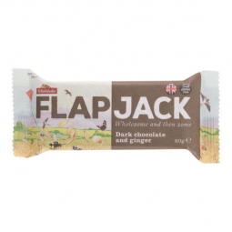 Flapjack ovesný čokoláda se zázvorem bezlepkový 80 g